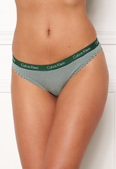 Calvin Klein Bikini 3-pack Black/Red/Green Bubbleroom.se