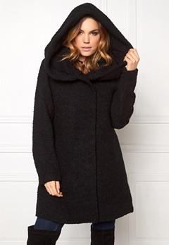 VILA Cama Favored Coat Black Bubbleroom.se