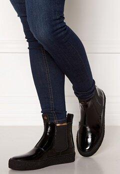 Canada Snow Mount Verm Patent Boots Black Bubbleroom.se