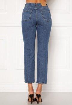 VERO MODA Carla HR Reg Ankle Jeans Medium Blue Denim Bubbleroom.se