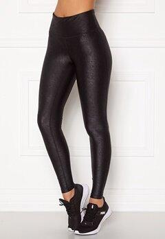 Casall Bold Leatherlike Tights 901 Black Bubbleroom.se