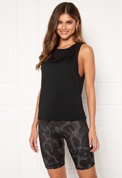 Casall Iconic Loose Tank 901 Black Bubbleroom.se