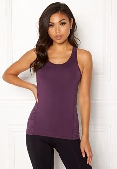 Casall Swirl Racerback Top 621 Pulse Purple Bubbleroom.se