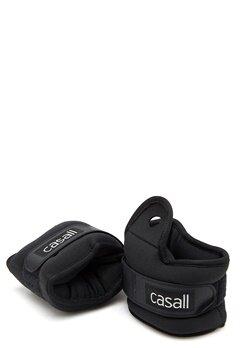 Casall Wrist Weights 2x2kg 901 Black Bubbleroom.se
