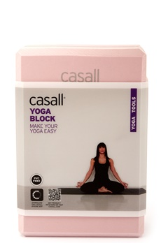Casall Yoga Block Lucky Pink / Grey Bubbleroom.se