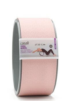 Casall Yoga Wheel Lucky Pink / Grey Bubbleroom.se
