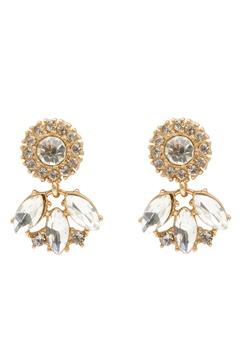 BY JOLIMA Celine Earring Crystal Bubbleroom.se