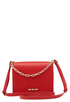 Love Moschino Chain Crossbody Bag 500 Red Bubbleroom.se