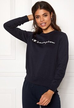 Champion Crewneck Sweatshirt Sky Captain Bubbleroom.se