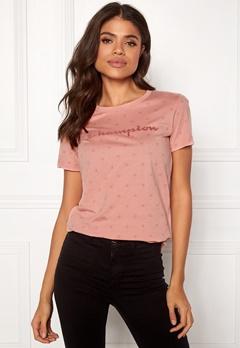 Champion Crewneck T-Shirt Rose Tan AL (RTN) Bubbleroom.se