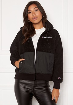 Champion Full Zip Sweatshirt KK001 NBK/MNT Black Bubbleroom.se