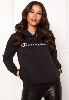 Champion Hooded Sweatshirt Black Beauty Bubbleroom.se