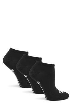 Champion No Show Socks 3-Pack Black Bubbleroom.se