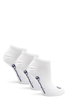 Champion No Show Socks 3-Pack White Bubbleroom.se