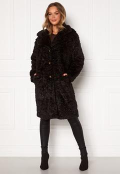 OBJECT Charlott Coat Black Bubbleroom.se