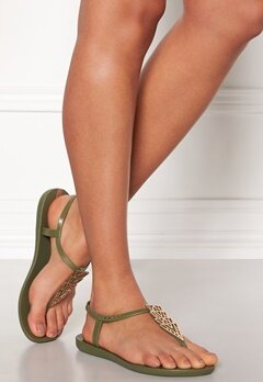 Ipanema Charm Sandal Green/green/bronze Bubbleroom.no