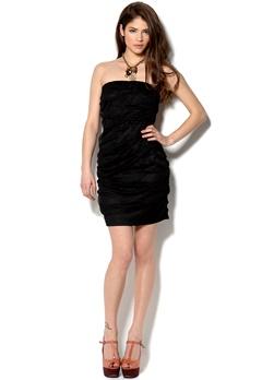 VILA Charmi Dress Black Bubbleroom.se