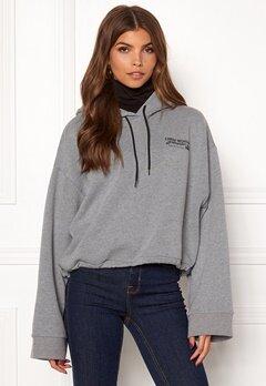 CHEAP MONDAY Expose Hood Jacket Grey Bubbleroom.se