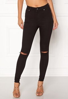 CHEAP MONDAY High Spray Jeans Black Bubbleroom.se