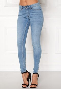 CHEAP MONDAY Mid Spray Jeans Stone Bleach Bubbleroom.fi