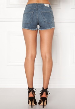 CHEAP MONDAY Mid Spray Shorts Blue Bubbleroom.se