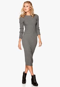 CHEAP MONDAY Repeal Dress Dark Grey Melange Bubbleroom.se