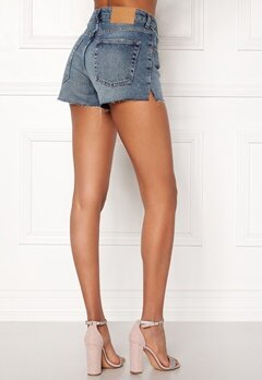 CHEAP MONDAY Revive Shorts Blue Heat Blue Bubbleroom.se