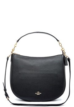 COACH Chelsey Leather Bag LIBLK Black Bubbleroom.se