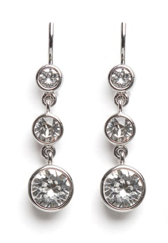 Dyrberg/Kern Chia Earrings Crystal Bubbleroom.se