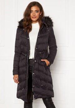 Chiara Forthi Adelfia Padded Jacket Black Bubbleroom.se
