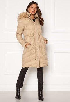 Chiara Forthi Adelfia Padded Jacket Camel Bubbleroom.se