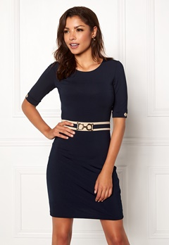 Chiara Forthi Amal dress Dark blue Bubbleroom.se