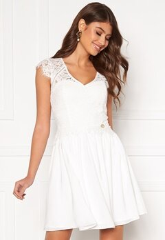 Chiara Forthi Amante lace dress White Bubbleroom.se