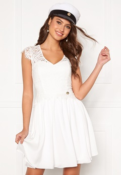 Chiara Forthi Amante lace dress White Bubbleroom.se