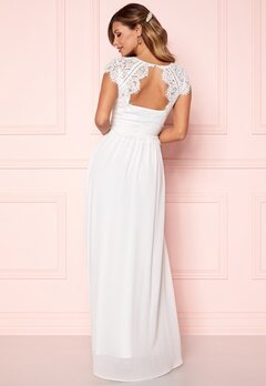 Chiara Forthi Amante Lace Gown White Bubbleroom.se