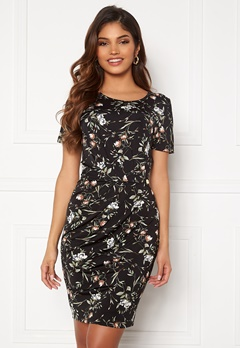 Chiara Forthi Amy Dress Floral / Black Bubbleroom.se