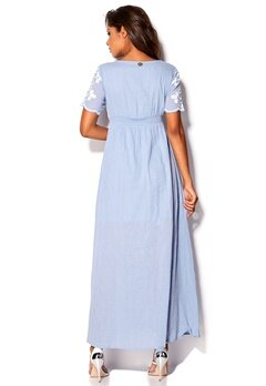 Chiara Forthi Anais Dress Blue / White Bubbleroom.eu