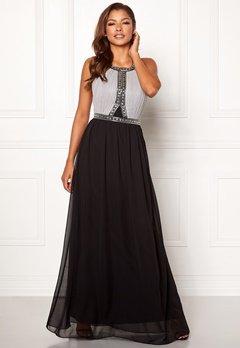 Chiara Forthi Anastasia embellished gown Black / Grey Bubbleroom.se