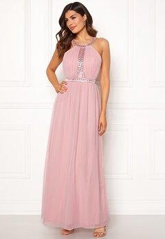 Chiara Forthi Anastasia embellished gown Pink Bubbleroom.se