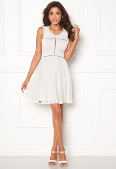 Chiara Forthi Anisa Lace Dress White Bubbleroom.no