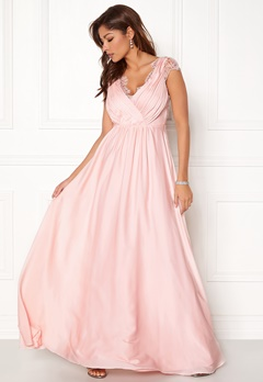 Chiara Forthi Annina Gown Light pink Bubbleroom.no