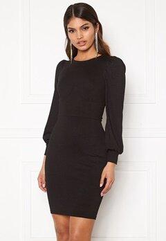 Chiara Forthi Apolline corsette dress Black Bubbleroom.se