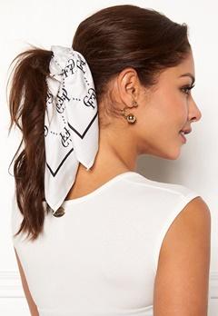 Chiara Forthi Arezzo scarf Black / Offwhite Bubbleroom.se