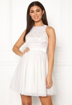Chiara Forthi Arielle tulle dress White Bubbleroom.se