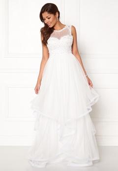 Chiara Forthi Aurora tulle gown White Bubbleroom.se