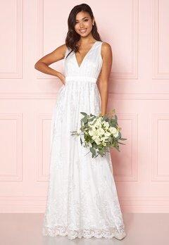 Chiara Forthi Ava gown White Bubbleroom.se