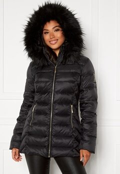 Chiara Forthi Avoriaz Down Jacket Black Bubbleroom.se