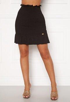 Chiara Forthi Bea smock skirt Black Bubbleroom.se