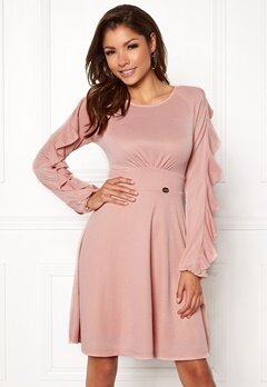Chiara Forthi Beatrix Dress Pink Bubbleroom.se