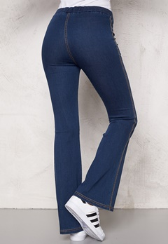 Chiara Forthi Bell Bottom Jeggings Blue denim Bubbleroom.fi